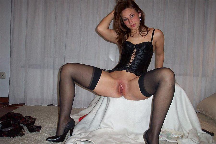 русские домашние порно фото в чулках